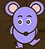 紫外線の実験をしたマウス